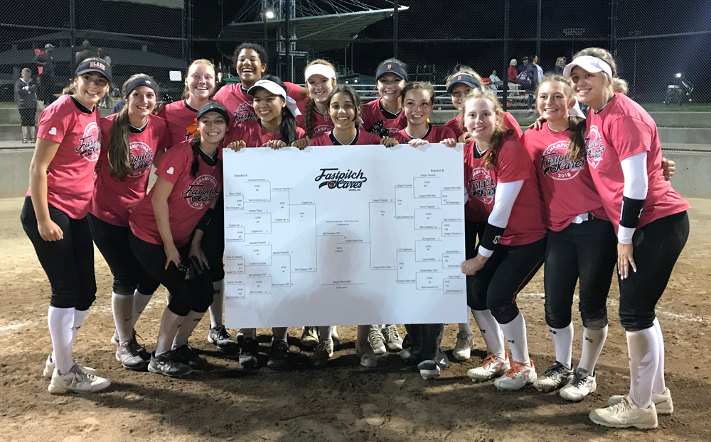The 2018 Fastpitch Cares Tournament Winner is….