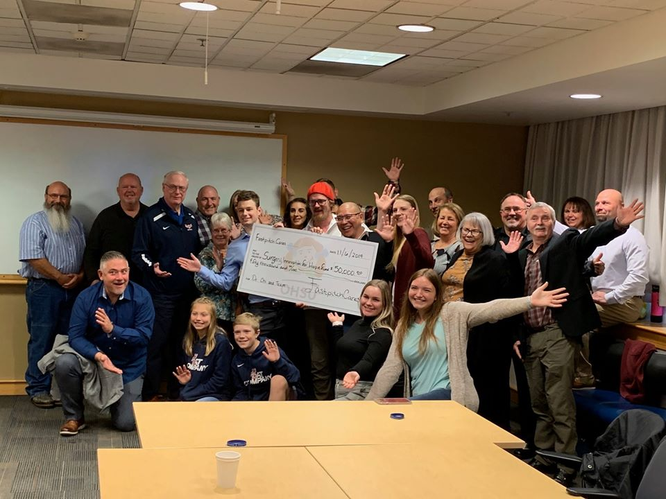 2019 Fastpitch Cares Check Presentation